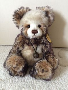 Charlie Bear Tracy Retired And Rare