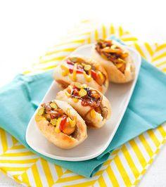 Recettes pour un apéro dinatoire : mini hot dogs