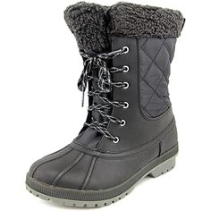 London Fog Swanley Women Round Toe Synthetic Winter Boot *** Remarkable product available now. : Boots