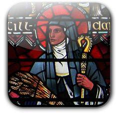 St. Brigid (452 – 525) was probably born at Faughart near Dundalk, Louth, Ireland.