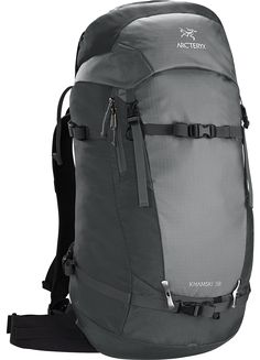 Khamski 38 Backpack Backcountry pack created and sized to carry the tools  necessary for ski touring 44bf69b5d9