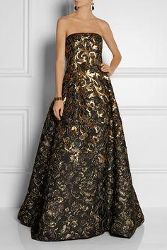 Luxusné a noblesné šaty Oscar De La Renta