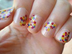LusseLilli: Lustige-Punkte-Nägel / Funny dots nails