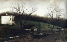 Andrew Wyeth - Evening At Kuerners, 1972