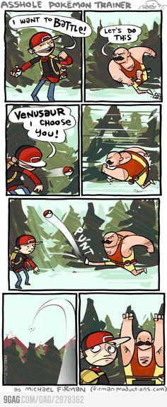 Pokemon Trainer : 1  Ash : 0