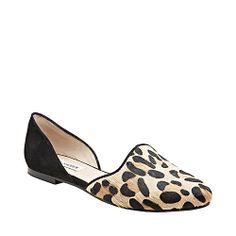 VAMP LEOPARD MULTI women's casual flat pointy toe - Steve Madden