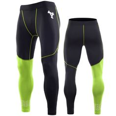 Leggings, Tights, Mens Compression Pants, Mens Crosses, Fitness, Perfect Fit, Sportswear, Running, Stylish