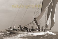 Lulworth 1930 © Beken of Cowes :: Image :: J Class Association Classic Yachts, Sailing Ships, Boat, Image, Dinghy, Boats, Sailboat, Tall Ships, Ship