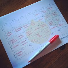 Great Blog for Monthly Meal Planning