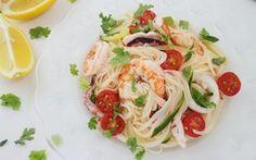 Mì lạnh kiểu Thái cực dễ làm cho bữa trưa ngày nóng