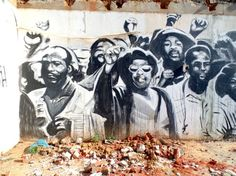 South Africa's Coolest Street Art: Woodstock – Cape Town To Do This Weekend, Woodstock, Cape Town, South Africa, Moose Art, Wall Art, Cool Stuff, Painting, Animals