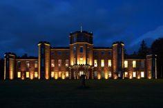 Beautiful wedding venue in Scotland called fasque house.