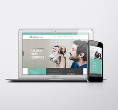 DISEÑO WEB CLÍNICA VETERINARIA EN SANTANDER / ESPAÑA Branding, Studio Apartment Design, Design Web, Brand Management, Identity Branding