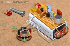 Figure 0 - build the 2 transistor spy transmitter Electronics Projects, Hobby Electronics, Electrical Projects, Cool Electronics, Pi Projects, Circuit Projects, Diy Tech, Electronic Engineering, Electrical Engineering