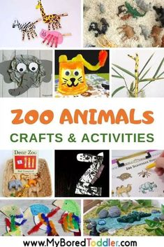 Are you looking for zoo animal crafts and activities for toddlers? We& searched and found some of the best ideas for you! Zoo Animal Crafts and Activities for Toddlers I think zoo animals are one Zoo Animal Activities, Toddler Fine Motor Activities, Zoo Animal Crafts, Zoo Crafts, Elephant Crafts, Dinosaur Activities, Craft Activities, Insect Crafts, Summer Activities