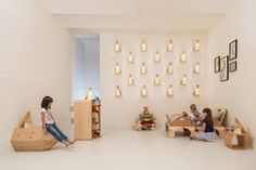 A environmentally-friendly furniture collection – with PEFC certified wood, low-emitting formaldehyde adhesives, and no plastics or iron. Kid Playroom, Furniture Collection, Kids Furniture, Environment, Furniture For Kids, Children Playroom