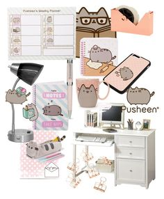 """""""Pusheen"""" by evieherring33 on Polyvore featuring interior, interiors, interior design, home, home decor, interior decorating, Home Decorators Collection, Pusheen, IdeaNuova and Tom Dixon"""