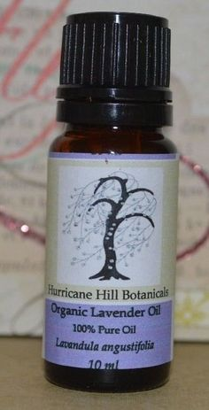 Organic Lavender Essential Oil by HurricaneHill on Etsy