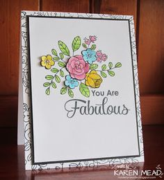 Made by Meadie: You are Fabulous