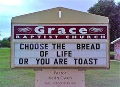 Church Sign Quotes Extraordinary Best Church Sign Sayings  The 24 Best Christian Billboards
