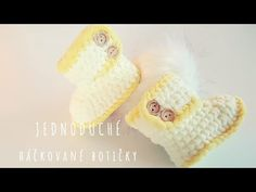 In last video I showed you how to crochet baby rattle. In this video I am going to show you how to crochet baby booties. It's months tutoria. Crochet Baby Booties, Baby Rattle, Easy Crochet, Knitted Hats, Booty, Make It Yourself, Knitting, Youtube, Patterns