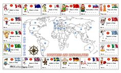 COUNTRIES AND NATIONS