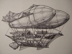 Mirage, Luftschiff