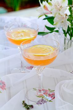 Lillet Rose Cocktail from @Nancy Buchanan