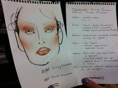 Make up instruction @ KJ MBFW