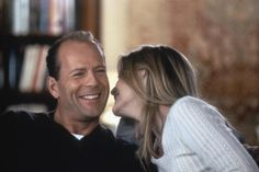 Michelle and Bruce Willis