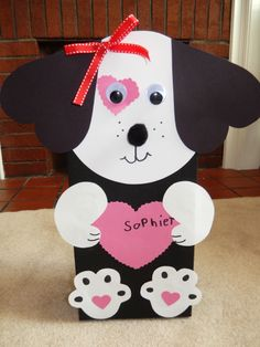 Puppy Dog Valentine Box