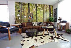 Estrelando: salas de estar e seus tapetes