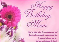 Best Happy Birthday Mom Wishes Messages Images Mother