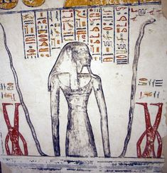 from the tomb of Ramses VI (KV 9).