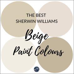 Sherwin Williams: The 5 Best Neutral Beige Paint Colours - Kylie M Interiors Indoor Paint Colors, Beige Paint Colors, Best Neutral Paint Colors, Interior Paint Colors, Paint Colors For Living Room, Paint Colors For Home, Gray Paint, Beige Color, House Colors