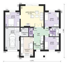 DOM.PL™ - Projekt domu Dom przy Sadowej CE - DOM EB2-73 - gotowy projekt domu