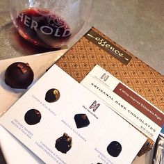 Chocolate pairing in such a fun atmosphere! Great music check out his interesting library and tasting room decor! #wine #winetasting #visitca #napa #yum #instagood #VisitNapaValley #napavalley #travel #california #wanderlust #getaway #chocolate #winecountry #igtravel #donapa #markherold #downtownnapa #instawine #chocolatepairing by themomjen