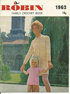 VINTAGE FAMILY CROCHET PATTERN Booklet BABY outfit & Womens TOPS DRESS JACKET   eBay