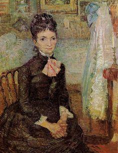 V V Gogh: Woman Sitting by a Cradle