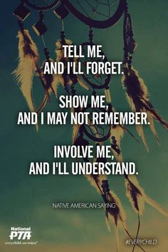 In November, National PTA's Every Child in Focus campaign centers on Native American Heritage Month. American Indian Quotes, Native American Images, Native American Wisdom, Native American History, Quotes To Live By, Life Quotes, Qoutes, Quotable Quotes, Native American Heritage Month