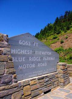 Richland Balsam - the highest elevation on the Blue Ridge Parkway. Found at an amazing panoramic overlook along the most southern portion of the BRP, south of Asheville in North Carolina.
