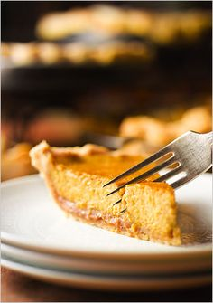 Recipe: Brandied pumpkin and chestnut pie.  Photo: Francesco Tonelli for The New York Times