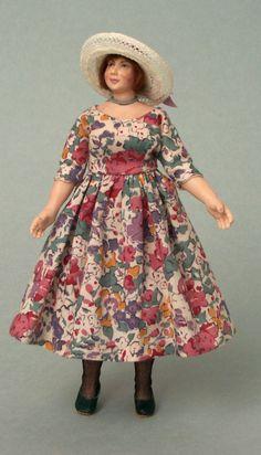 Dollhouse Dolls, Miniature Dolls, Dollhouse Miniatures, Godmothers, Fairy Godmother, Baby Dolls, Originals, Doll Clothes, Lady