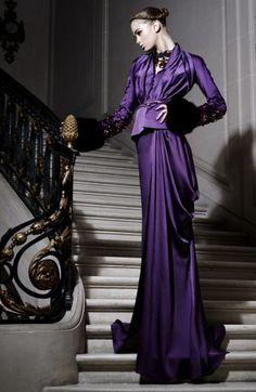 purple by {this is glamorous} Purple Love, All Things Purple, Purple Rain, Shades Of Purple, Purple Dress, Deep Purple, Purple Fashion, White Outfits, Pretty Dresses