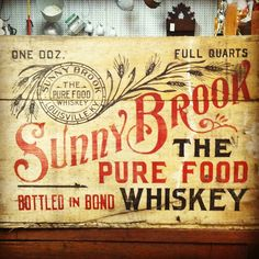 Sunny Brook Whiskey. One of my friends bought me a bottle once, it was HORRIBLE.