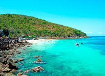 Pattaya - gorgeous island, rough boat rides!