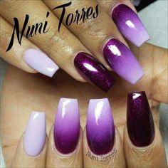 Purple mani