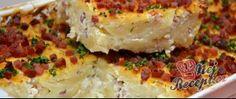 Recept Zapékané těstoviny s tvarohem a slaninou Quiche, Breakfast, Food, Lasagna, Morning Coffee, Essen, Quiches, Meals, Yemek