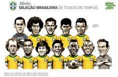 La Selección Ideal De Todos Los Tiempos*: Brasil