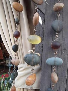 Beautiful wind chime and so creative!